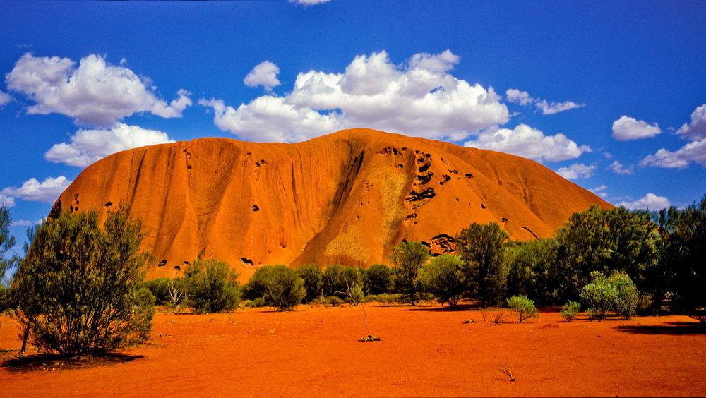 Красные горы Австралии