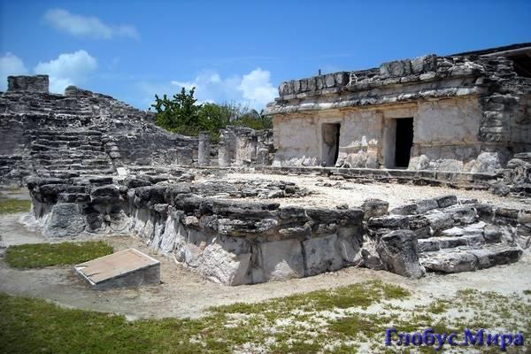 Руины Дель-Рей в Канкуне