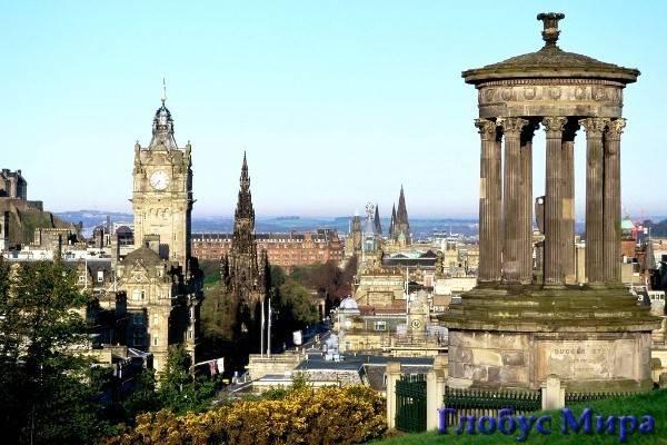 Достопримечательности Эдинбурга (Шотландия)