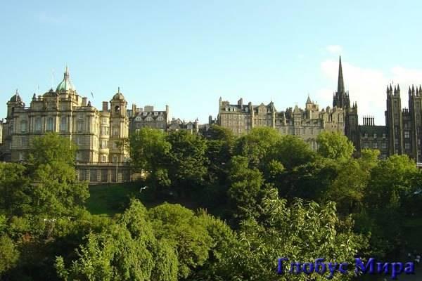 Эдинбургский замок. (Шотландия)