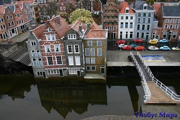 Парк миниатюр Мадуродам в Гааге