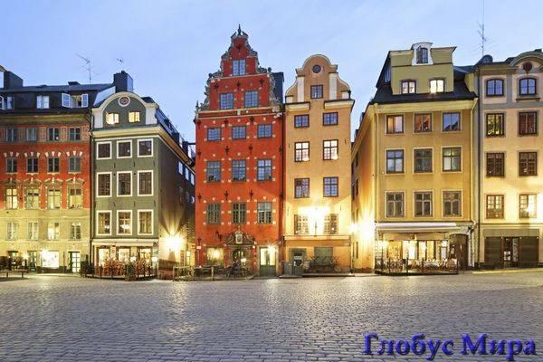 Дома в с Стокгольме, Швеция