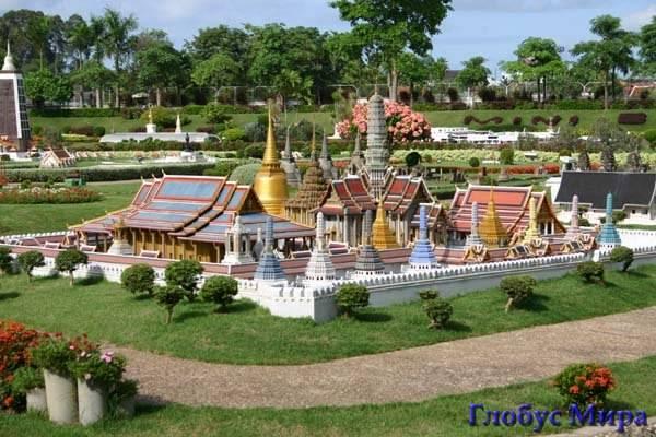 Сиам-парк. Карта Паттайи