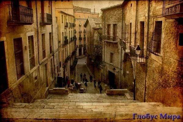 Улицы старинного города