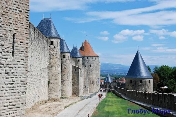 Каркасонская крепость