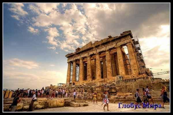 Италия, Афины: достопримечательности