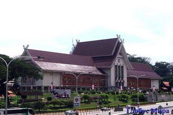 Национальный музей. Куала-Лумпур и его достопримечательности