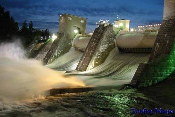 Водопад Иматранкоски