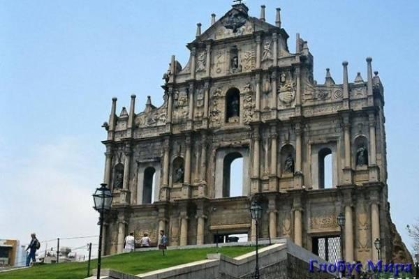 Руины собора Св. Павла
