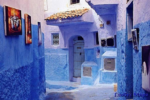 Марокканский колорит: Знаменитый синий город Шефшауен
