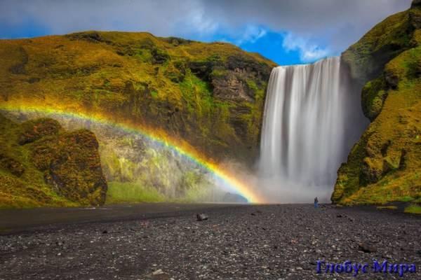Водопад Скоугафосс. Исландия, водная стихия и достопримечательности