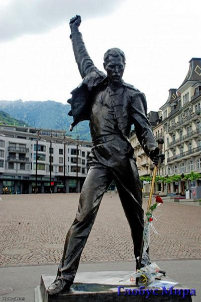Памятник Фредди Меркьюри