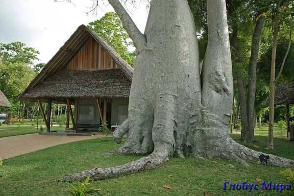 Отель лодж на Мадагаскаре