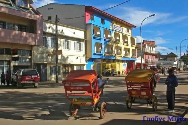 Мадагаскарские рикши
