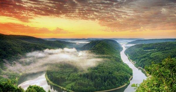 Земля Саарланд в Германии