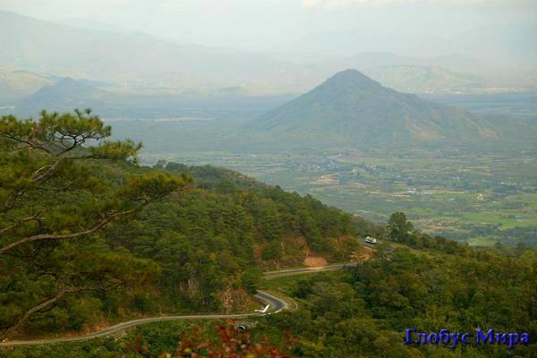 Красивая местность близ Начанг