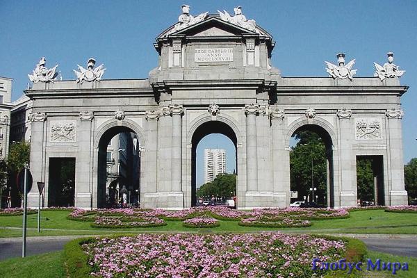 Триумфальная арка Пуэрта-де-Алькала