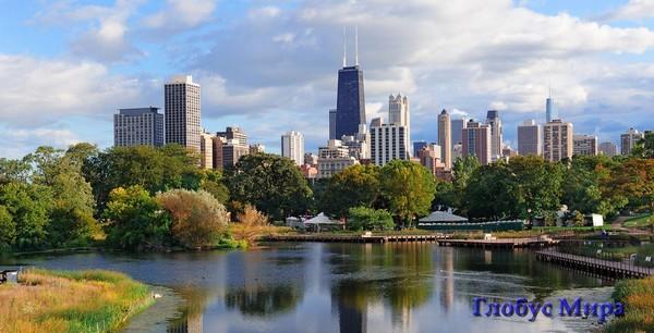 Достопримечательности Чикаго на фото