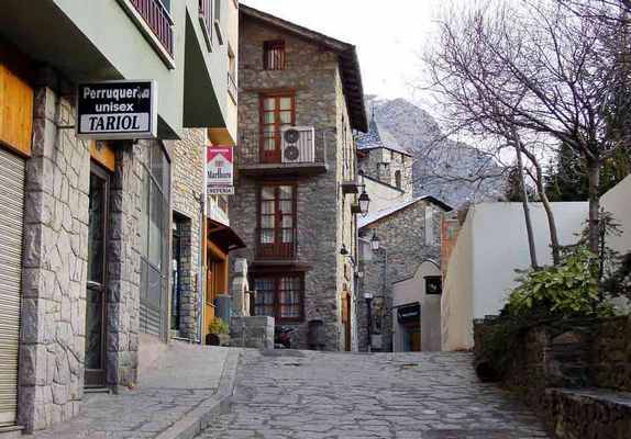 Улицы столицы Андорры
