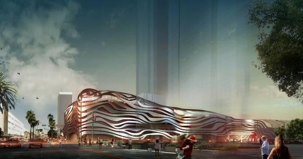 Проект фасада автомузея Петерсона
