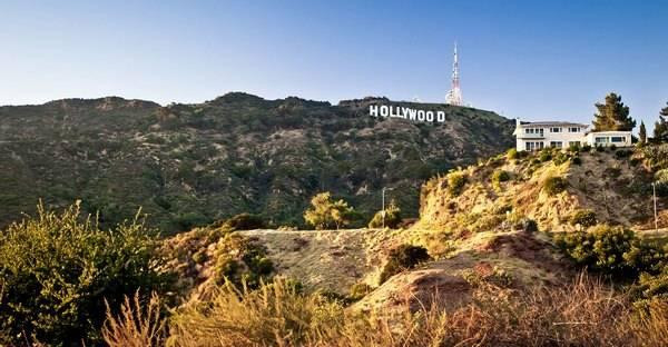Надпись Голливуд – бренд города