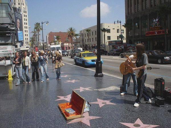В Голливуде