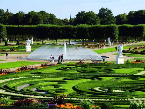 Золотой сад Ганновера