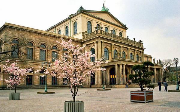 Оперный театр в Ганновере