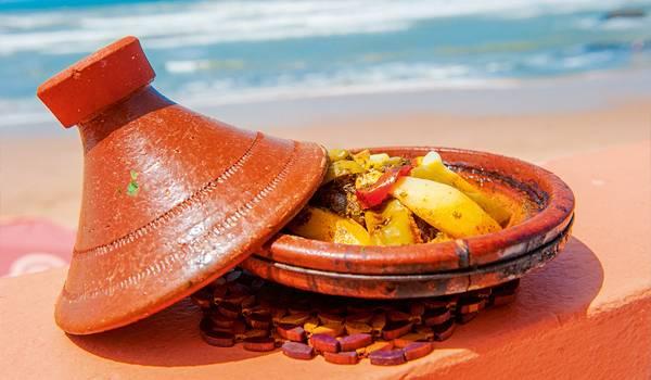 Рыба с овощами – одно из самых вкусных яств Агадира