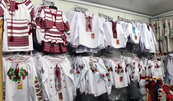 Вышиванки – национальная украинская одежда