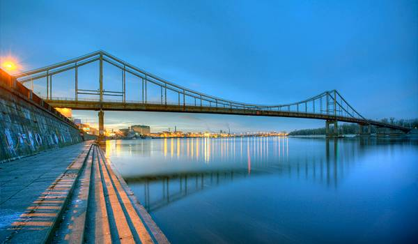 В Киеве красивы не только здания, но и мосты