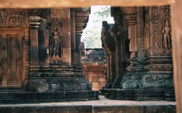 Удивительные фрески храма Ангкор-Ват
