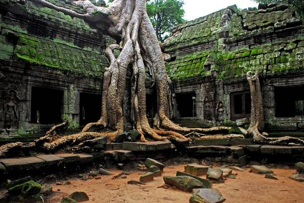 Храм Ангкор-Ват в Камбодже