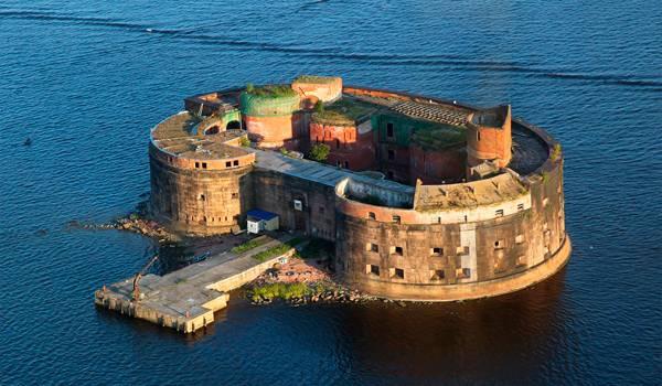 Оплот и защита Кронштадта – морской форт