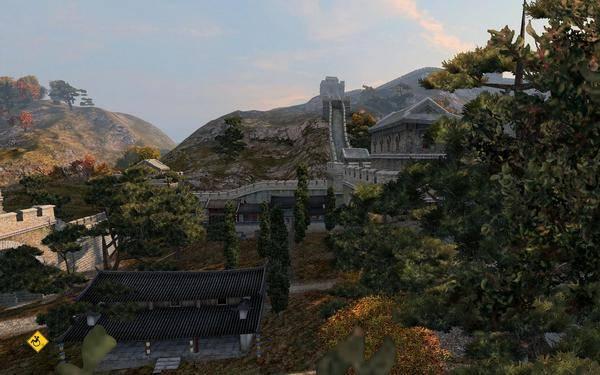 Великую Китайскую стену видно даже из космоса