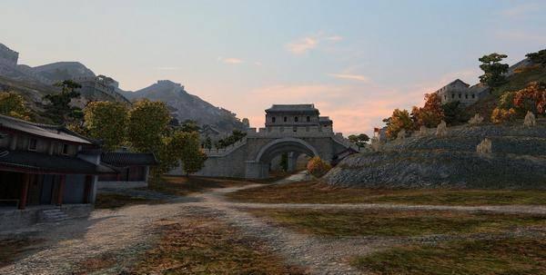 Великая китайская древняя стена