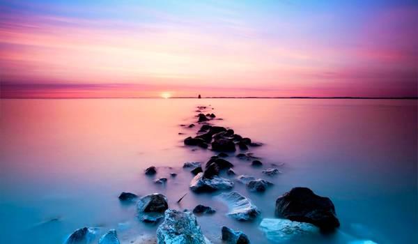 Розовая вода озера Ретба