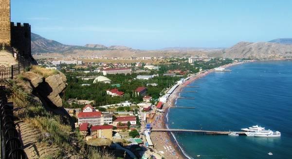 Село Веселое у Судака