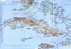 Фото Кубы на карте