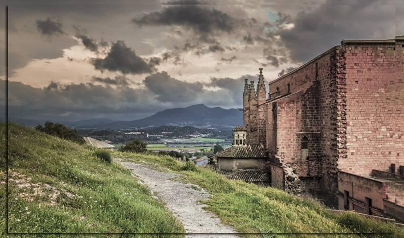 Средневековый город Монтбланк