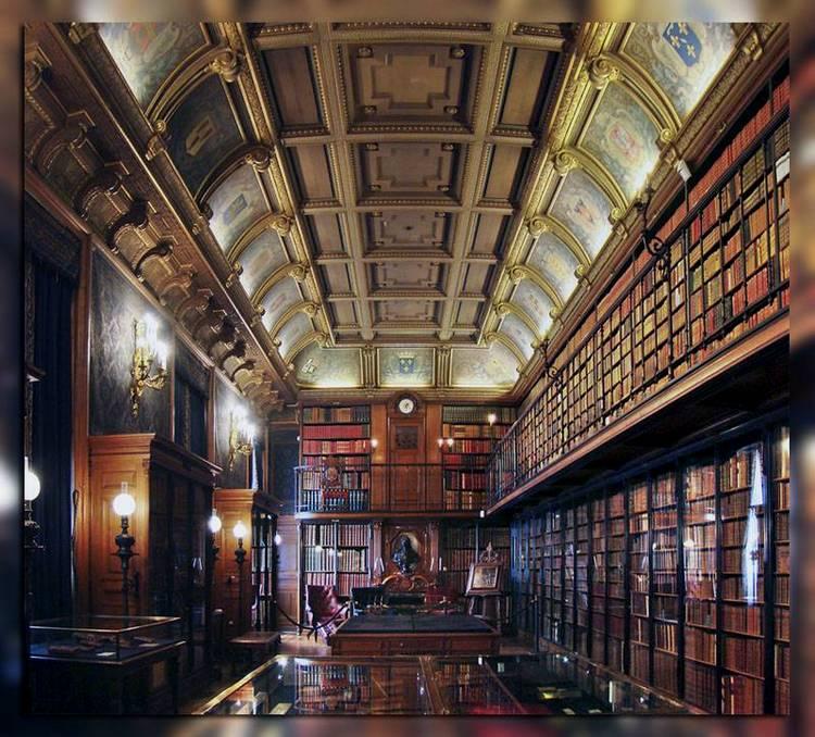 Библиотека в замке