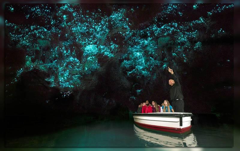 Путешествие на лодке по подземной реке