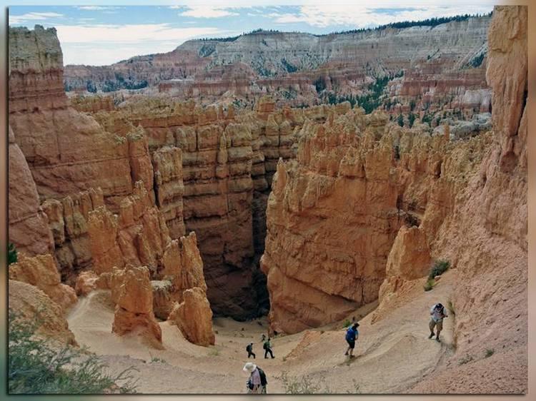 Тропа Навахо в Брайс-каньоне