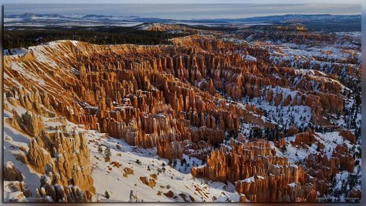 Брайс каньон зимой