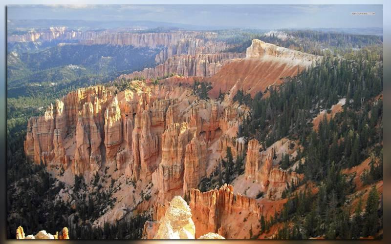 Вид на Брайс-каньон в Национальном парке США