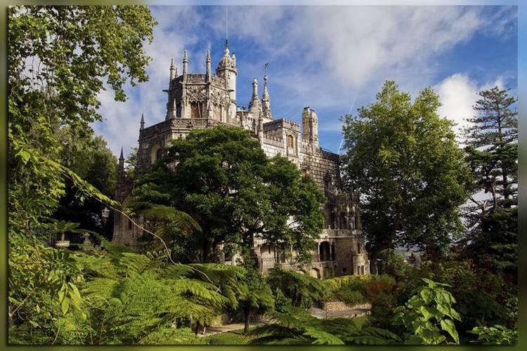 Парк дворцового ансамбля Кинта Регалейра (Португалия, Синтра)