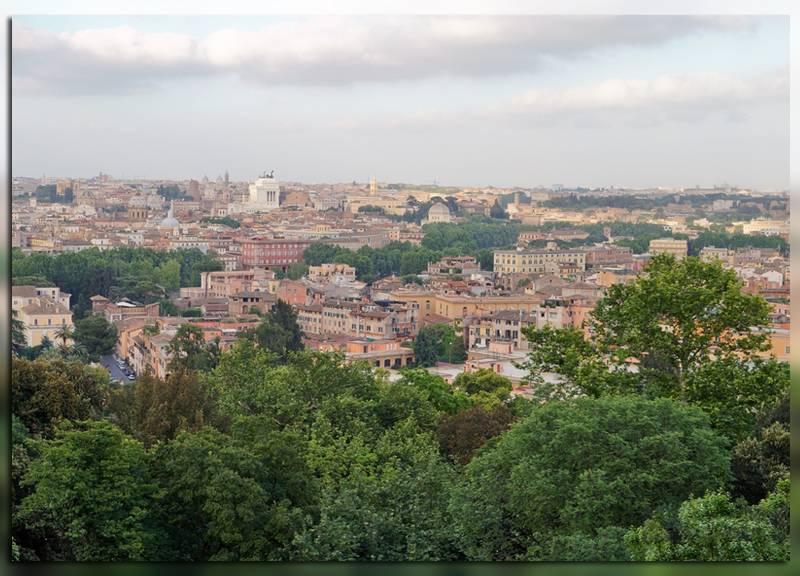 Вид на город с Яникульского холма