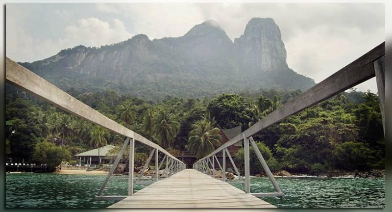 Достопримечаельности острова Тиоман