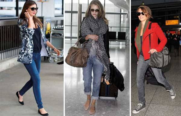 Знаменитости в аэропорту