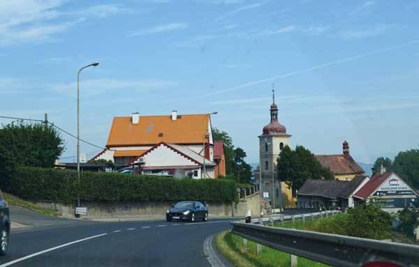 По дороге на Мельник, Чехия